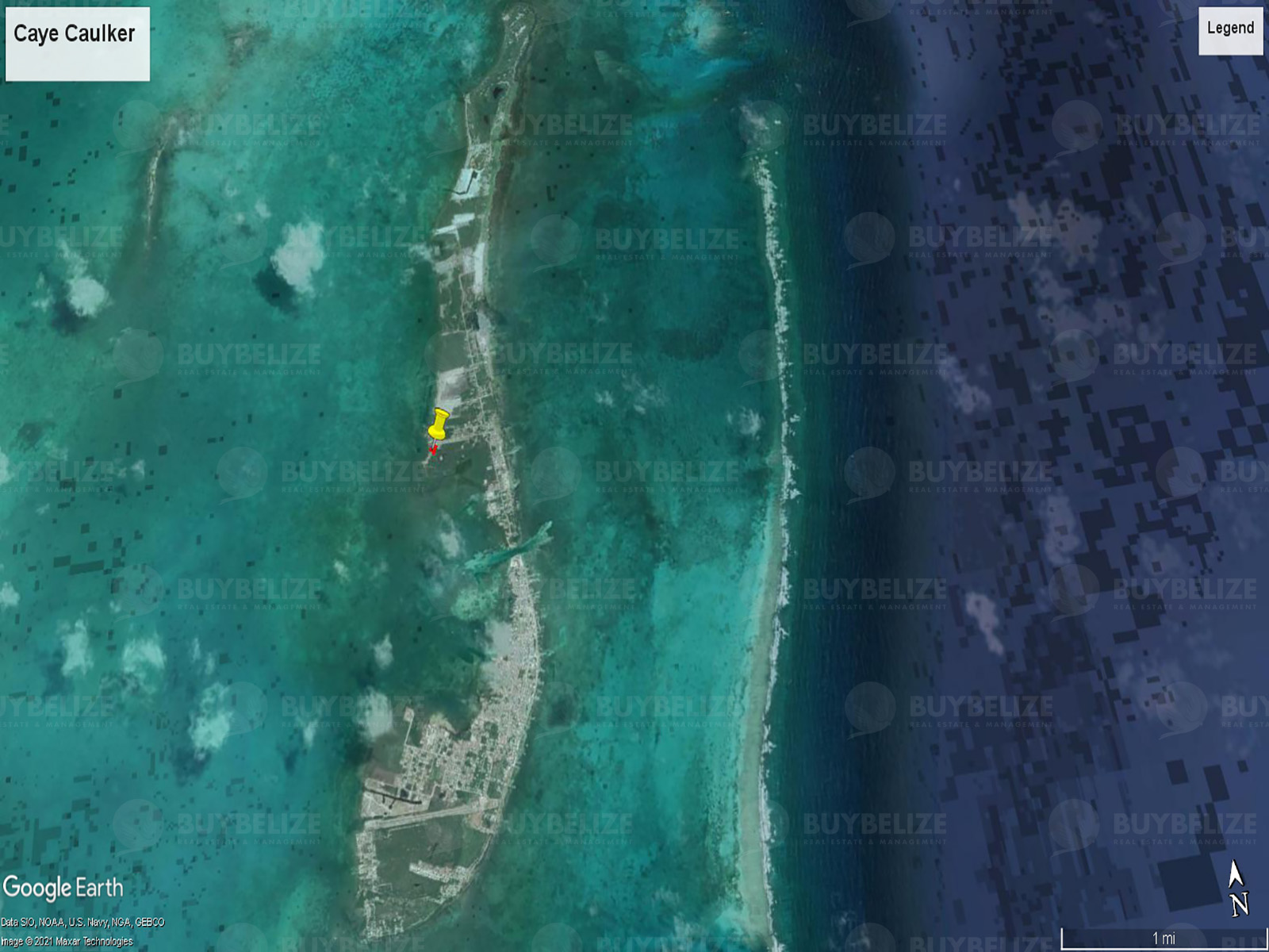 Beach Front Property For Sale in Caye Caulker