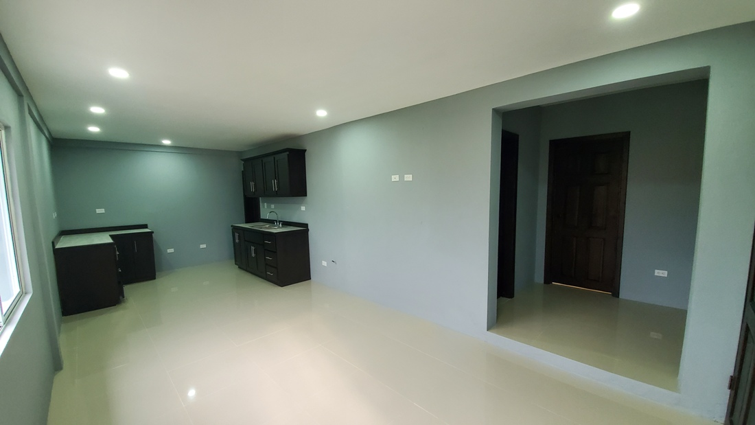 Unfurnished 2 Bed 1 Bath Apartment for Rent in Belize City