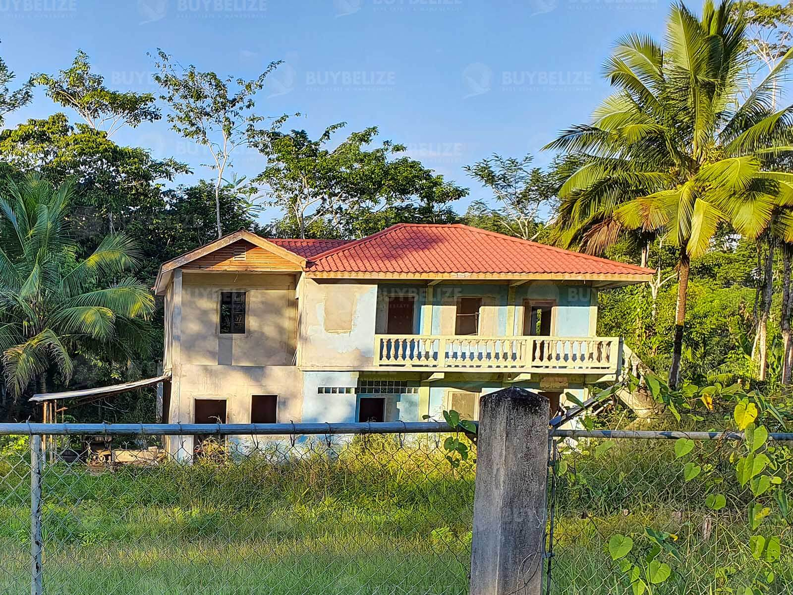 Near Complete House for Sale in Beautiful Rural Area in Toledo, Belize