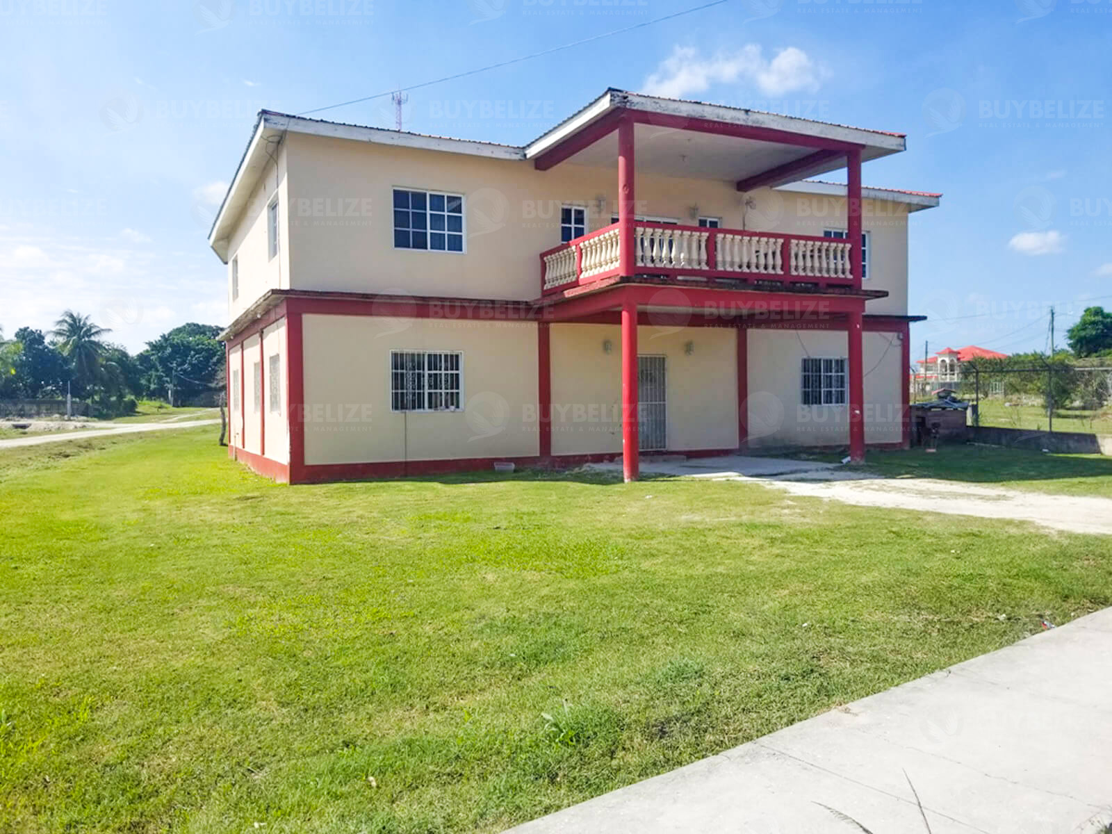 Large House for Sale in Orange Walk Town Belize